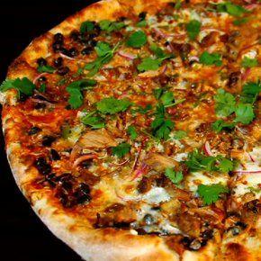 Esteban Destino Pizza Pizza Brain - pulled pork, black beans