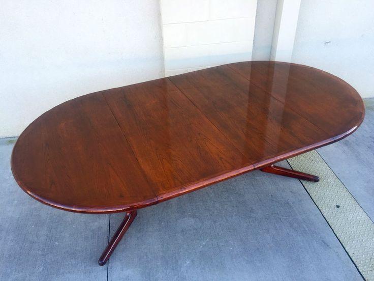 mid century danish modern teak dining table teak dining table dining
