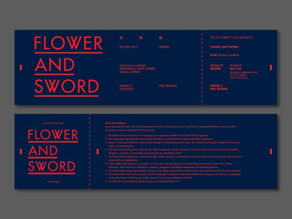 Flower and Sword on the Student Show