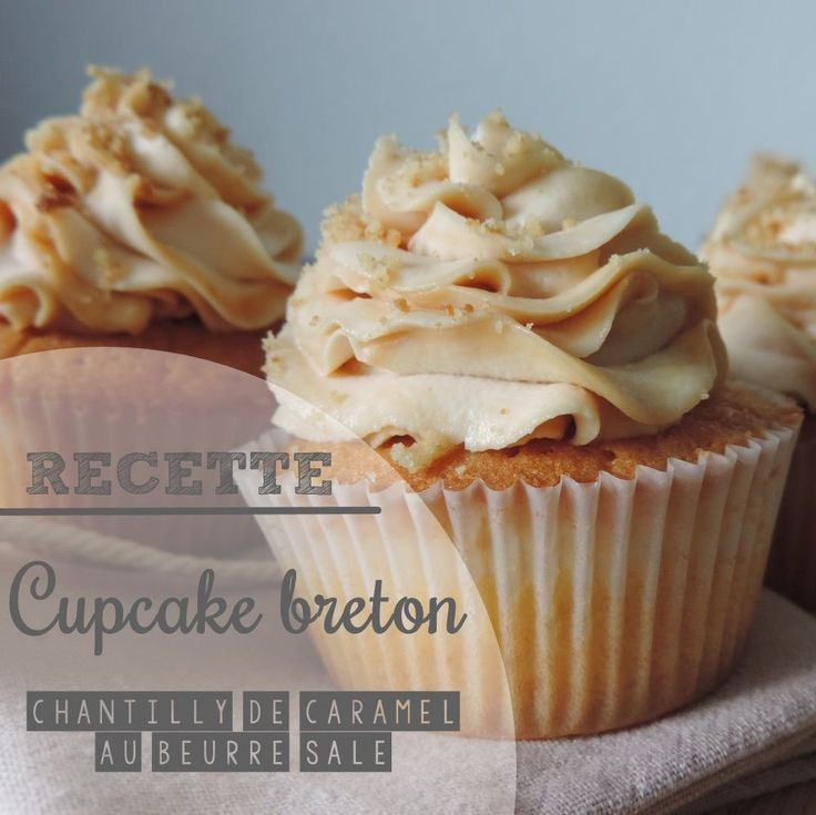 cupcake chantilly au caramel au beurre salé