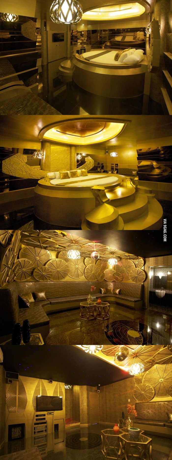 Asgard Themed Hotel Room in Manila, Philippines -- I can already hear Stark's prank calls to room service! :D