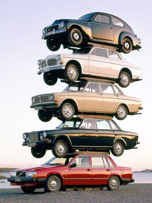 Volvo evolution