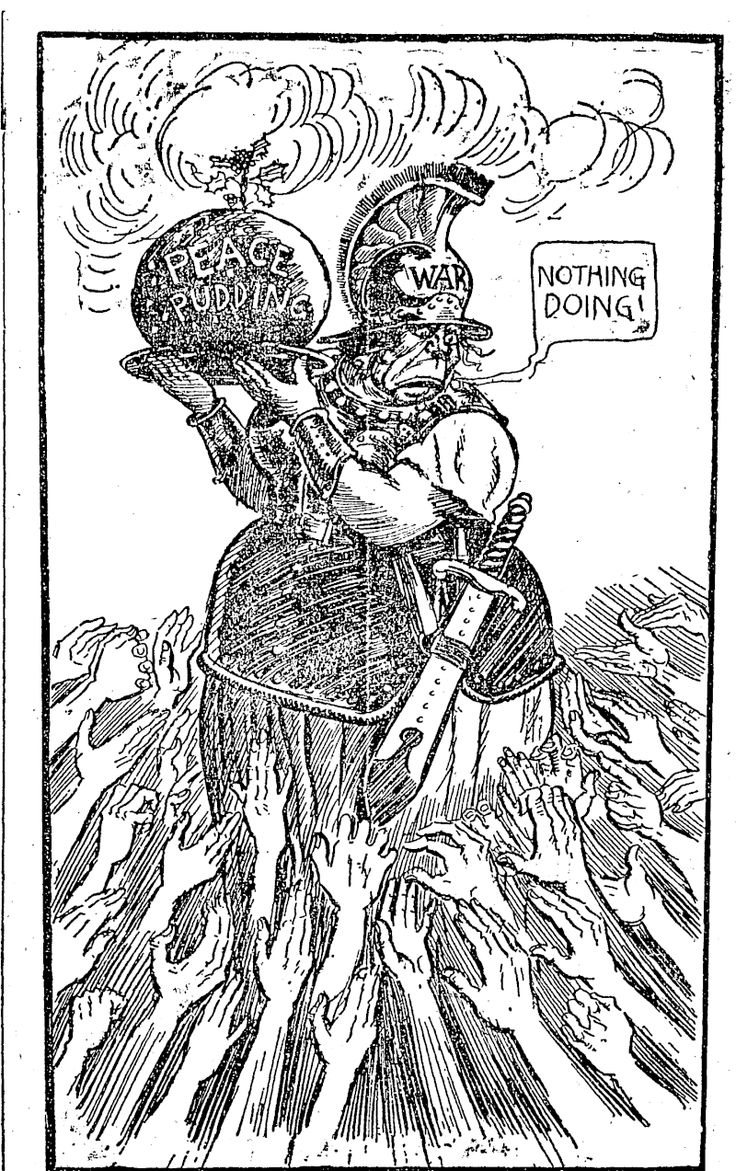Untitled Illustration (NZ Truth, 05 January 1918) - National Library of New Zealand - NZ Truth, Papers Past