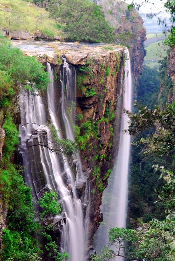 Magwa Falls - Flagstaff in the Eastern Cape, South Africa - via ‫إبداع الخالق‬‎