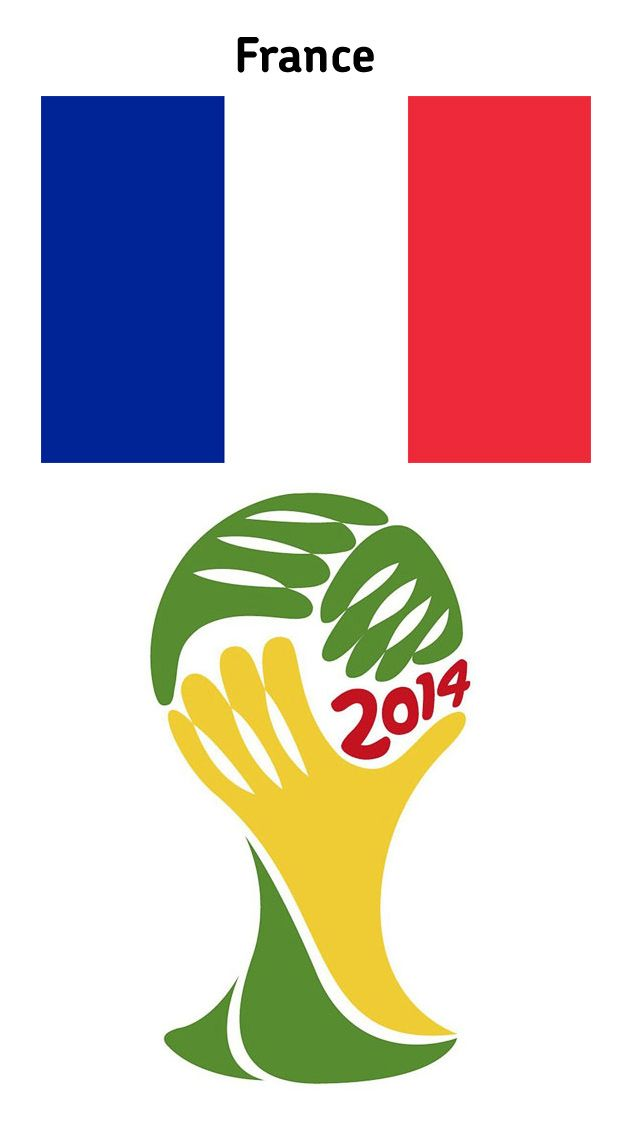 FIFA World Cup 2014 – France | Download iphone 5 Wallpapers, Wallpaper iphone 5