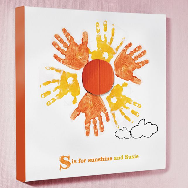 you are my sunshine craft ideas handprint canvas craft ideas 7948