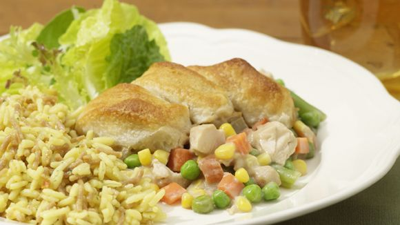 This turkey pot pie is a simple new way to enjoy that for Preheat oven for turkey