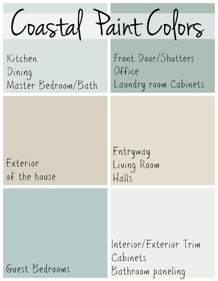 Benjamin Moore Whole House Color Palette Google Search Beach