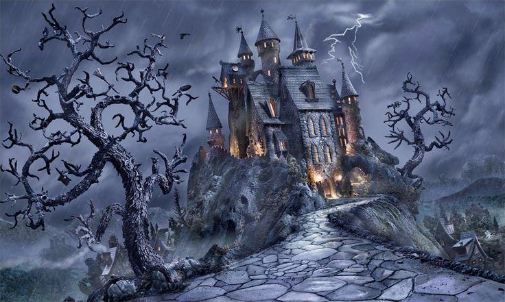 17 best images about castles spooky creepy on for Stay in a haunted castle in scotland