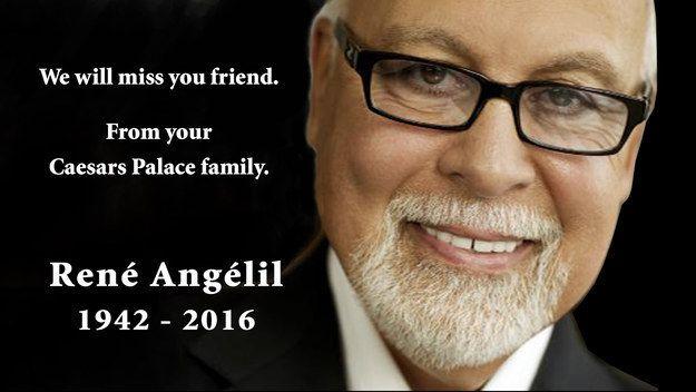 Celine Dion's Husband, René Angélil, Dies Of Cancer - BuzzFeed News