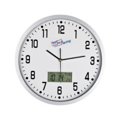 Image of Promotional Crisma Wall Clock. Printed Analogue Wall Clock.
