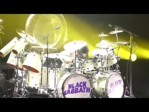 Black Sabbath - Tommy Clufetos Drum solo FULL HD 1080p LIVE Kraków, Taur...
