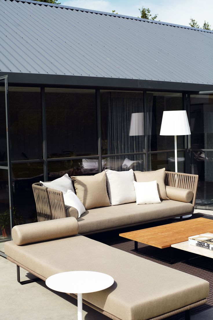 Bitta modern patio furniture by rodolfo dordoni - Kettal Bitta Sof 3 Plazas