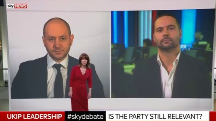 Sky News Debate - Is The UK Independence Party Still Relevant? https://www.youtube.com/watch?v=fAOUMMx6xoM