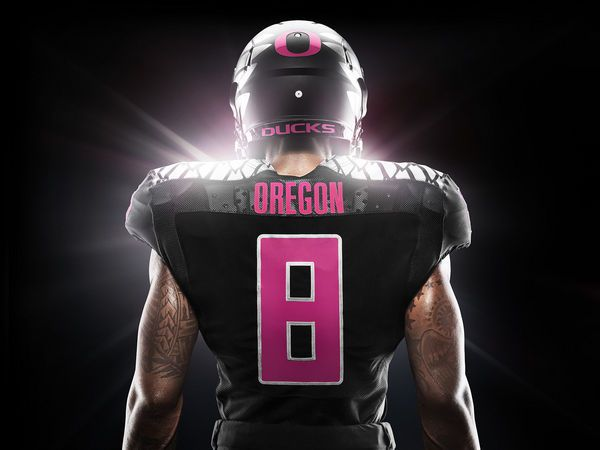 Oregon Ducks will wear pink against Arizona in support of Breast Cancer Awareness month | OregonLive.com