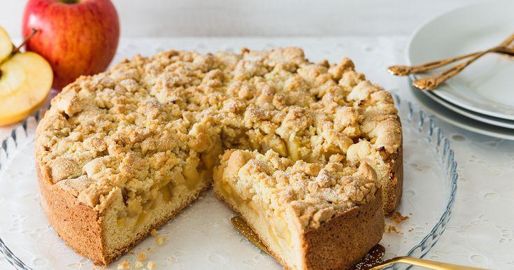 Saftiger Apfelkuchen mit Streusel – Apfelkuchen Rezepte