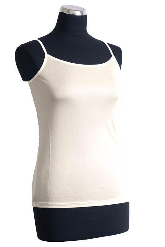 Koszulka model 0163/beż E-Sklep Jedwab Polski
