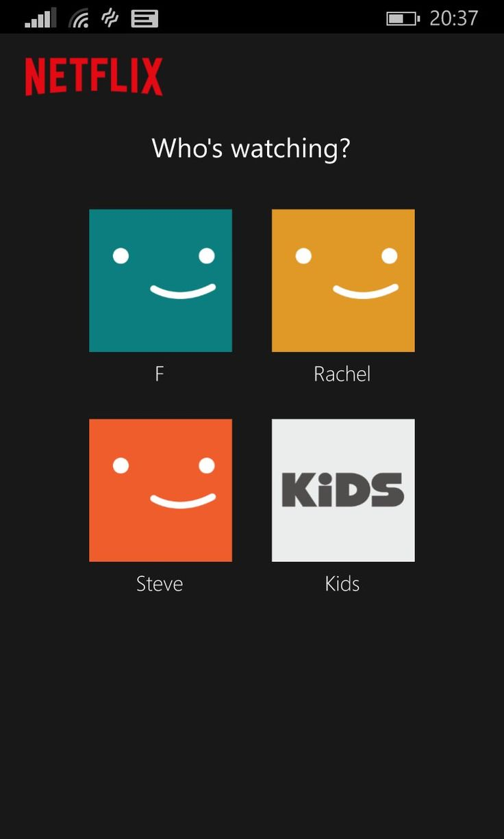 Image result for netflix user profiles