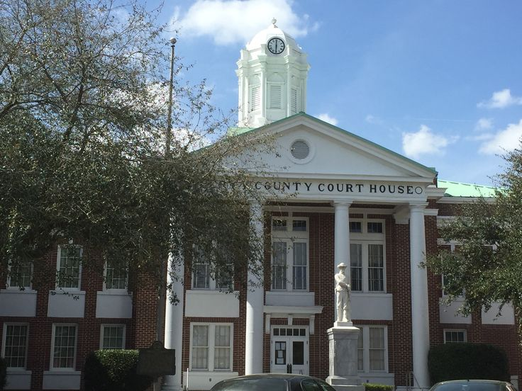 Old Liberty County Courthouse In Hinesville Georgia Paul Chandler March 2016