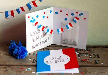 こちらは開くとフラッグが表れるメッセージカード。こんなカードが届いたら、笑顔がこぼれそう。