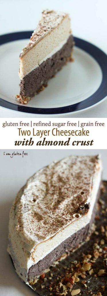 Gluten free & primal cheesecake with almond crust