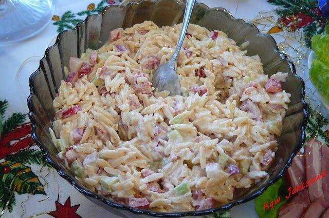 Jadło z piekarnika i rondelka: Sałatka z makaronem ryżowym