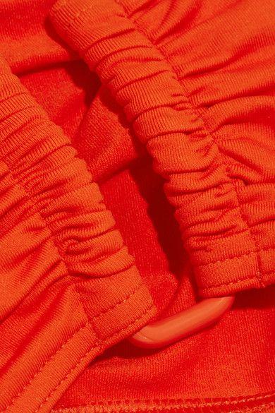 Eres - Les Essentiels Show Bandeau Bikini Top - Tomato red - FR44