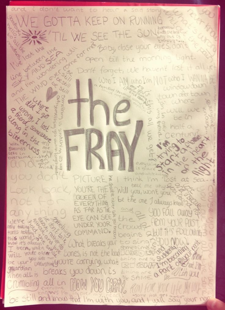 59 best The Fray. images on Pinterest | Music quotes, Song quotes ...