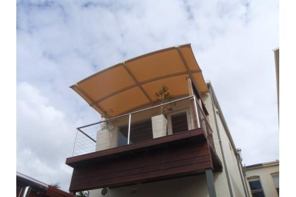 Outrigger Awnings - Cantilevered Batten Awnings