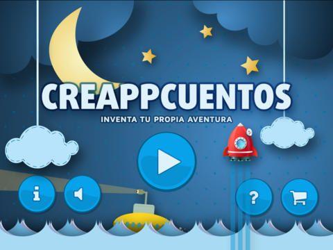 Creappcuentos es una aplicación para tabletas iOS y Android que permite crear cuentos en muy pocos pasos.