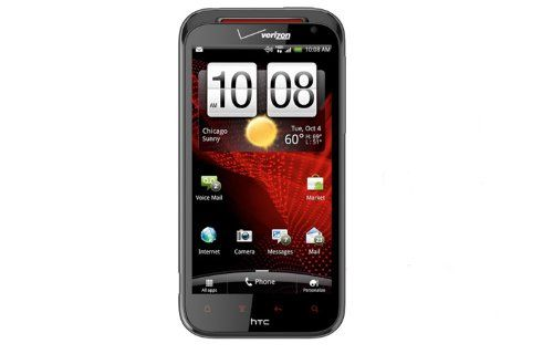 The #HTC #Rezound Android smartphone features a large 4.3-inch super LCD HD display, 4G LTE data and a 1.5 GHz dual-core processor. It also includes an 8-megapixe...