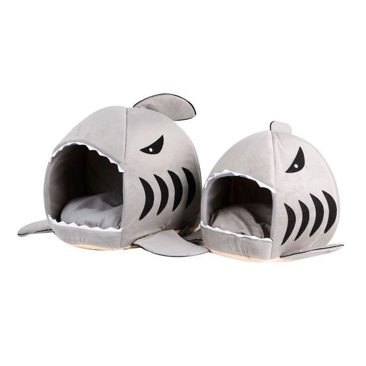 Winter Warm Cute Shark Mouth Pet Dog Bed Cat House Removable Washable Cartoon Pet Sofa Couch Bed Kennel YX# #clothing,#shoes,#jewelry,#women,#men,#hats,#watches,#belts,#fashion,#style