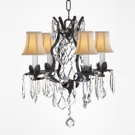17 Best ideas about Chandelier With Shades on Pinterest | Chandelier shades,  Chandeliers and Vintage chandelier