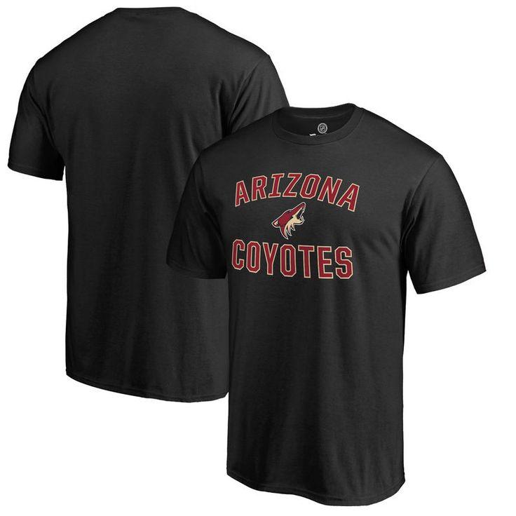 Arizona Coyotes Victory Arch Big & Tall T-Shirt - Black