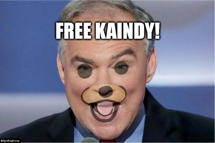 Free Kaindy! Upcoming election slogan or future scandal-related meme - only time will tell.