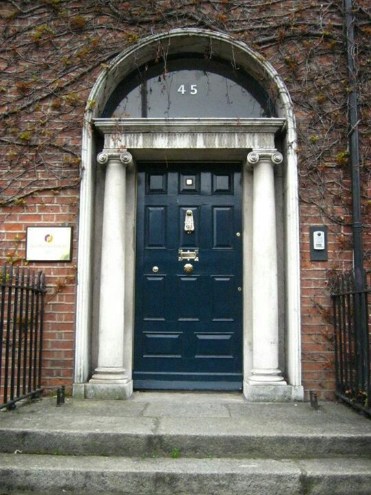 Door Dublin Georgian Townhouse & 69 best The Grand Georgian - Front Door (ideas) images on Pinterest ...