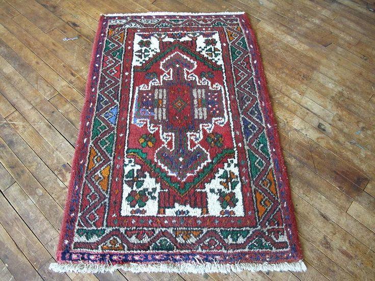 small persian rug 2x3 wool rug boho rug tribal rug hand knotted rug