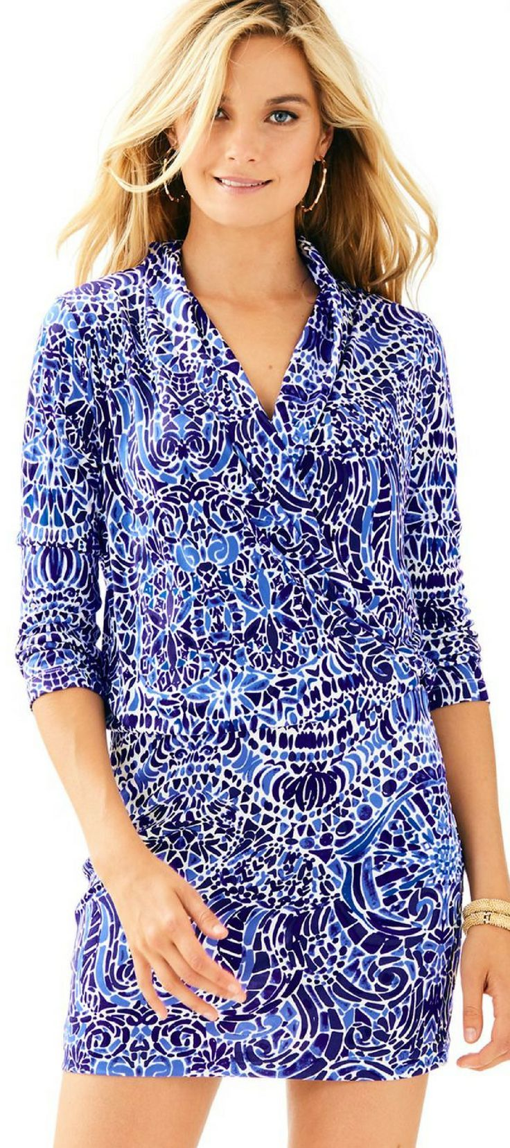 9dfa669a19a632 A silky dress is the definition of a date night outfit. The Lilly Pulitzer  Felizia