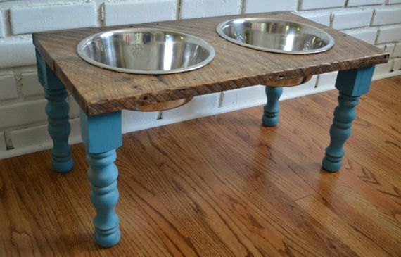Hey, I found this really awesome Etsy listing at https://www.etsy.com/listing/155008933/reclaimed-wood-raised-farmhouse-dog