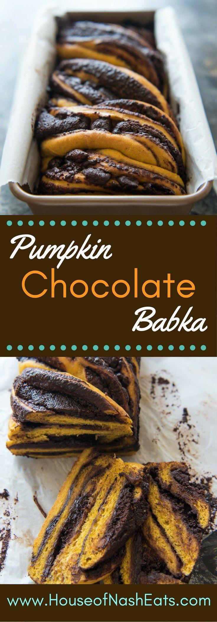 Sweet, spiced pumpkin yeast bread meets rich, dark chocolate in this twist on…