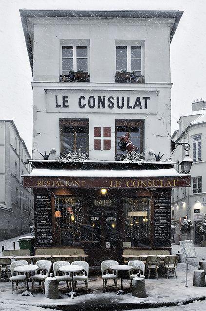 Montmartre - Paris, France.  ASPEN CREEK TRAVEL - karen@aspencreektravel.com