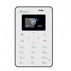 iNew Mini 1 Credit Card Phone - Quad Band GSM, Bluetooth Sync, Remote Camera