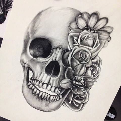 Found my drawing on someone's pinterest board! Lol. || Drawing by Bre Armenta.