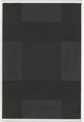 Ad Reinhardt. Untitled. (c. 1966)