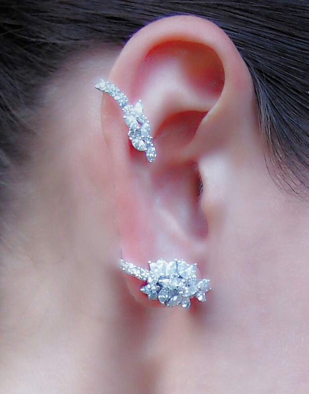37 best Eat cuff/jacket images on Pinterest   Ear cuffs, Ears and ...