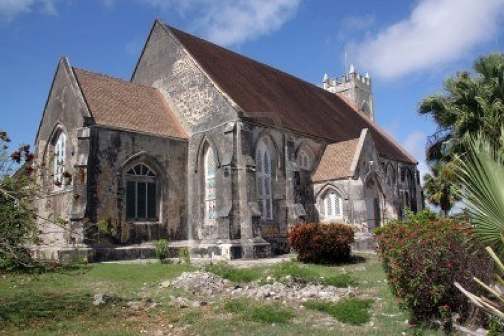 Old Stone Anglican Church in Caribbean Island Barbados