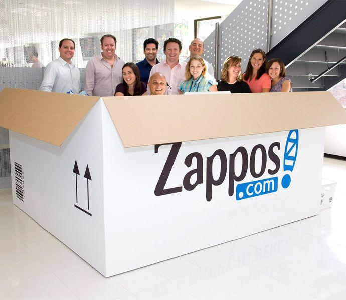 обслуживание Клиентов в Zappos
