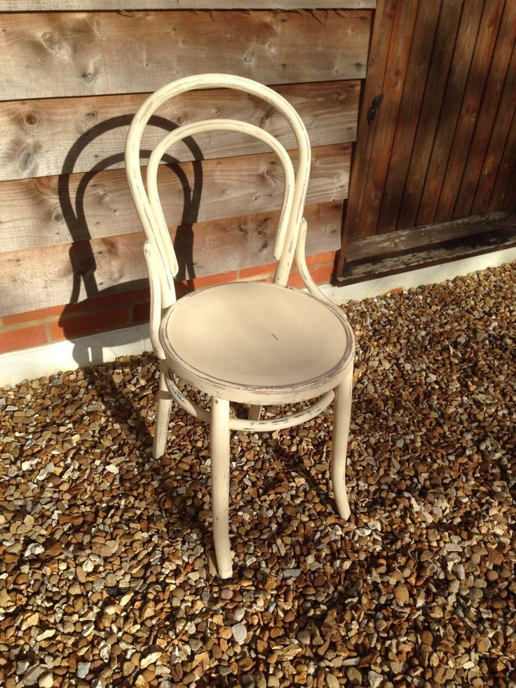 Vintage Painted Thonet Bentwood Chair.