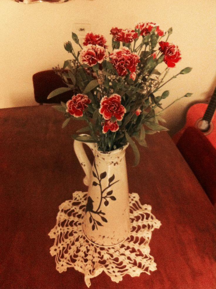Mis flores, nuestra casa