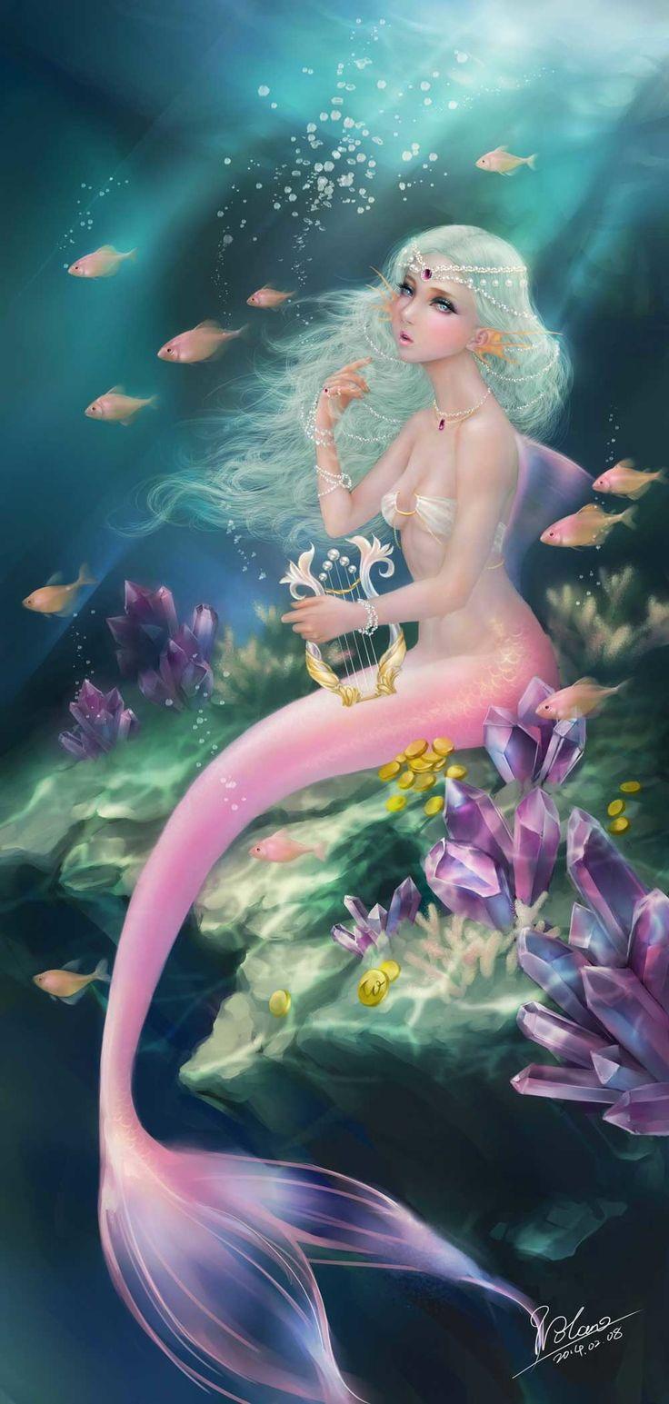 Deep-sea mermaid by nolan114 | CGSociety
